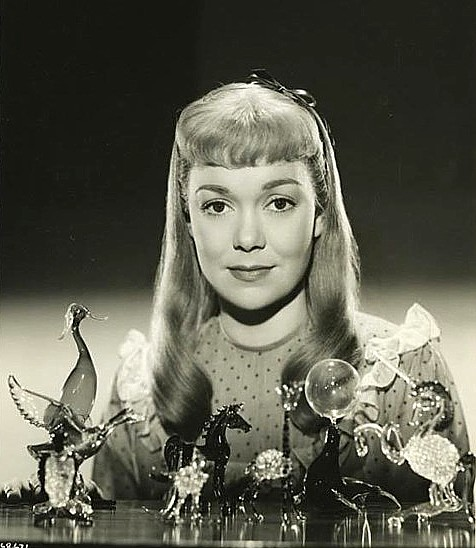 "JANE WYMAN in Rapper's film version of Tennessee Williams' ""The Glass Menagerie."""