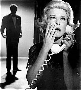 "DORIS DAY menaced in""Midnight Lace"" (1960)"