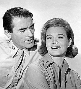 GREGORY PECK and ANGIEDICKINSON