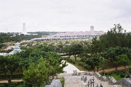 Peace Memorial Museum steps