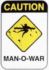 [MAN-OF-WAR © 1986, Hawaiian Lifeguard Association]