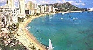 A View From Waikiki Sheraton