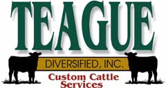 Teague Diversified, Inc. - offering custom cattle feeding, ranch marketing & management, and dairy & beef heifer development