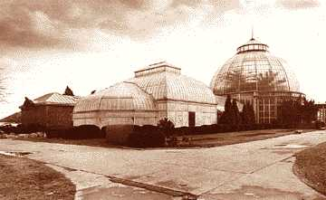 The Belle Isle conservatory as it appeared in 1983.