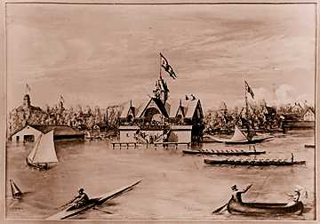 The Detroit Boat Club in a 1873 view.