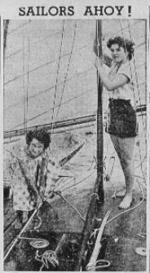 1951 Richmond Amateur Sailing Club   carnival