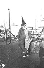 Wirth's Circus 1920s clown