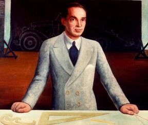 Edsel Ford, by Diego Rivera.