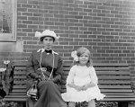 1900s girl's dress