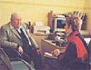 Janis Wilton interviewing Les Daniels, Deniliquin 1998
