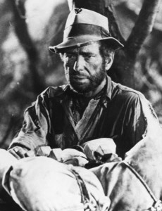 Humphrey Bogart as Dobbs in 'Treasure of the Sierra Madre'