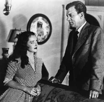 "Steiner composed for 19 Bette Davis dramas, including this one, ""Beyond the Forest."" That's Bette with Joseph Cotten."