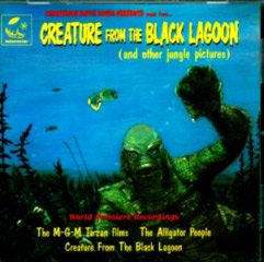 the new CD featuring 'Creature From the Black Lagoon' music.