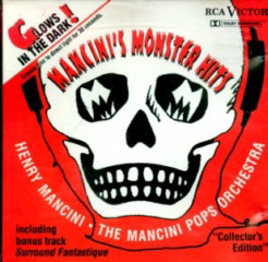 a rare 1990 album of Mancini horror themes