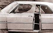 The car driven by Viola Liuzzo with Leroy Moton