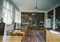 Interiér knižnice - študovňa (foto Peter Darnády)