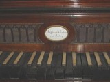 Hummel's piano at the Hummel Museum (Tim Doling)