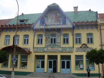 Skalica Culture House (Monuments Board of the SR Archives, photo by Martina Orosová)
