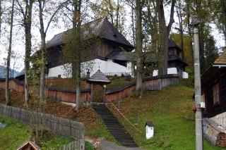 Evangelical ´Articled´ Wooden Church at Leštiny (photo by Ľubica Pinčíková)