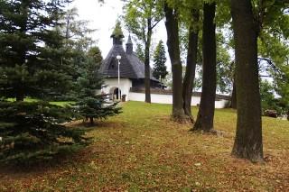 Roman Catholic Wooden Church at Tvrdošín (photo by Ľubica Pinčíková)