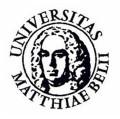 Matej Bel University - logo