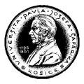 Pavol Jozef Šafárik University in Košice - logo