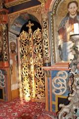 Ladomirová - iconostas detail (photo by Ľubica Pinčíková)
