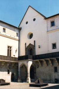 Zvolen Castel - chapel (foto - Ľubica Pinčíková)