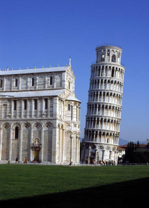 La Torre Pendente (The Leaning Tower)