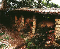 Climbing kilns in the Tsuboya area of Naha