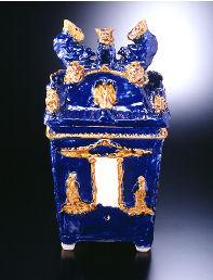 Jiishigaami buurial urn