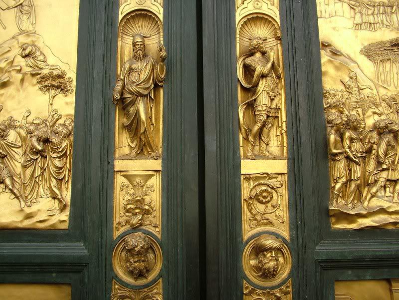 Detail of Ghibertiu0027s Baptistry Doors & THE BAPTISTERY OF ST JOHN | Florence | Guide