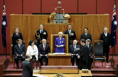 Quentin Bryce Governor General of Australia.